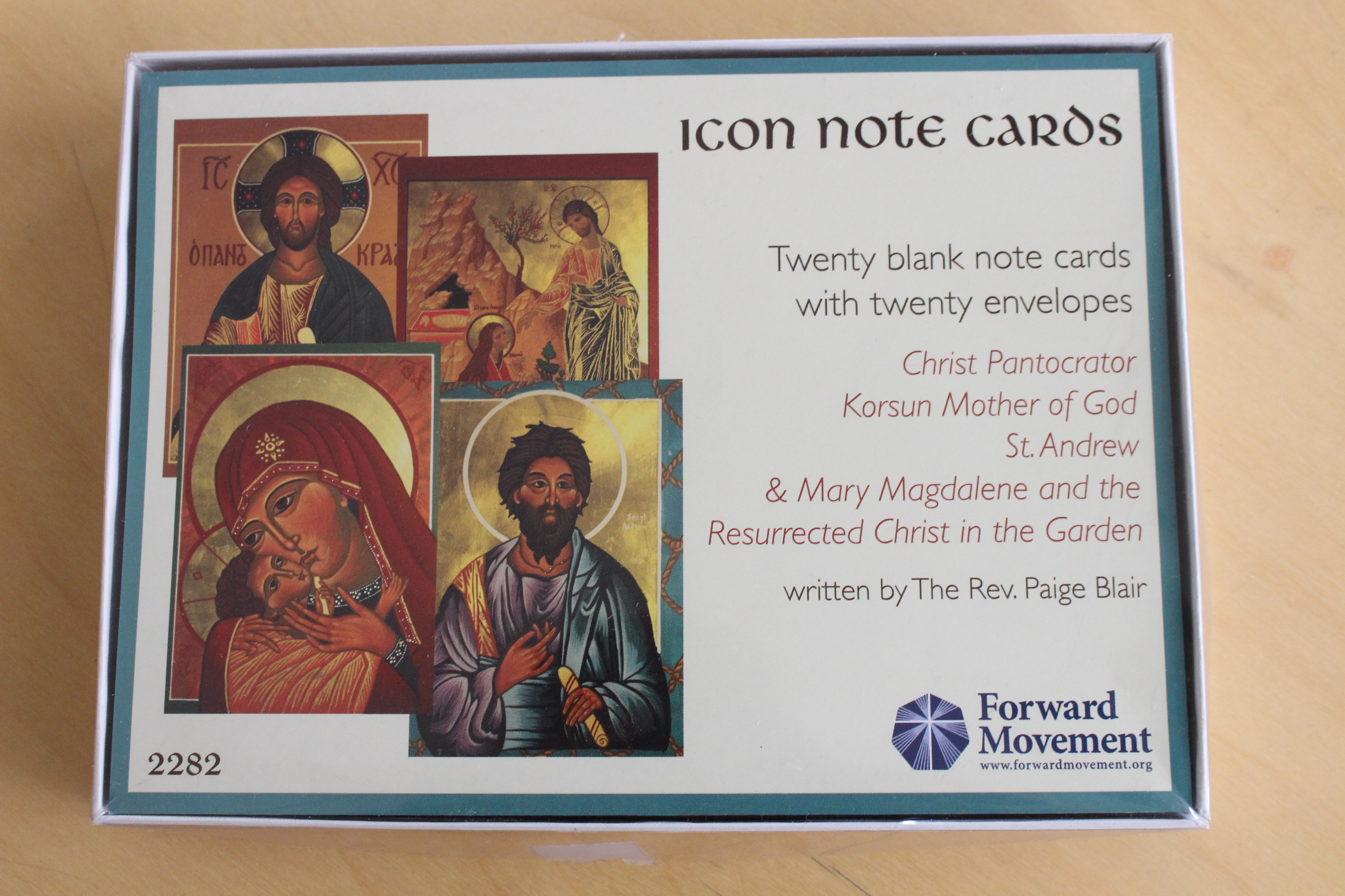 Icon Note Card Set