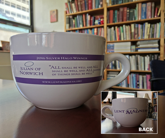 2016 Silver Halo Winner Large Mug