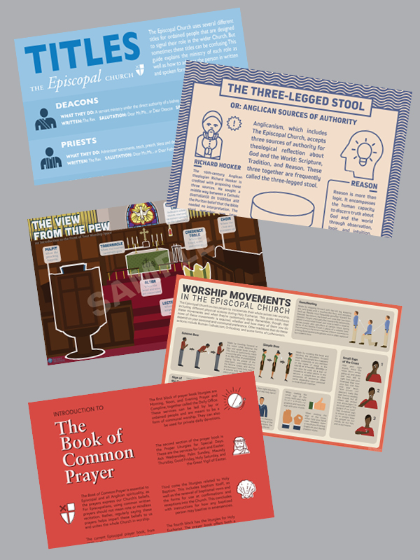 Basics of the Episcopal Church Infographic—Evangelism Bundle