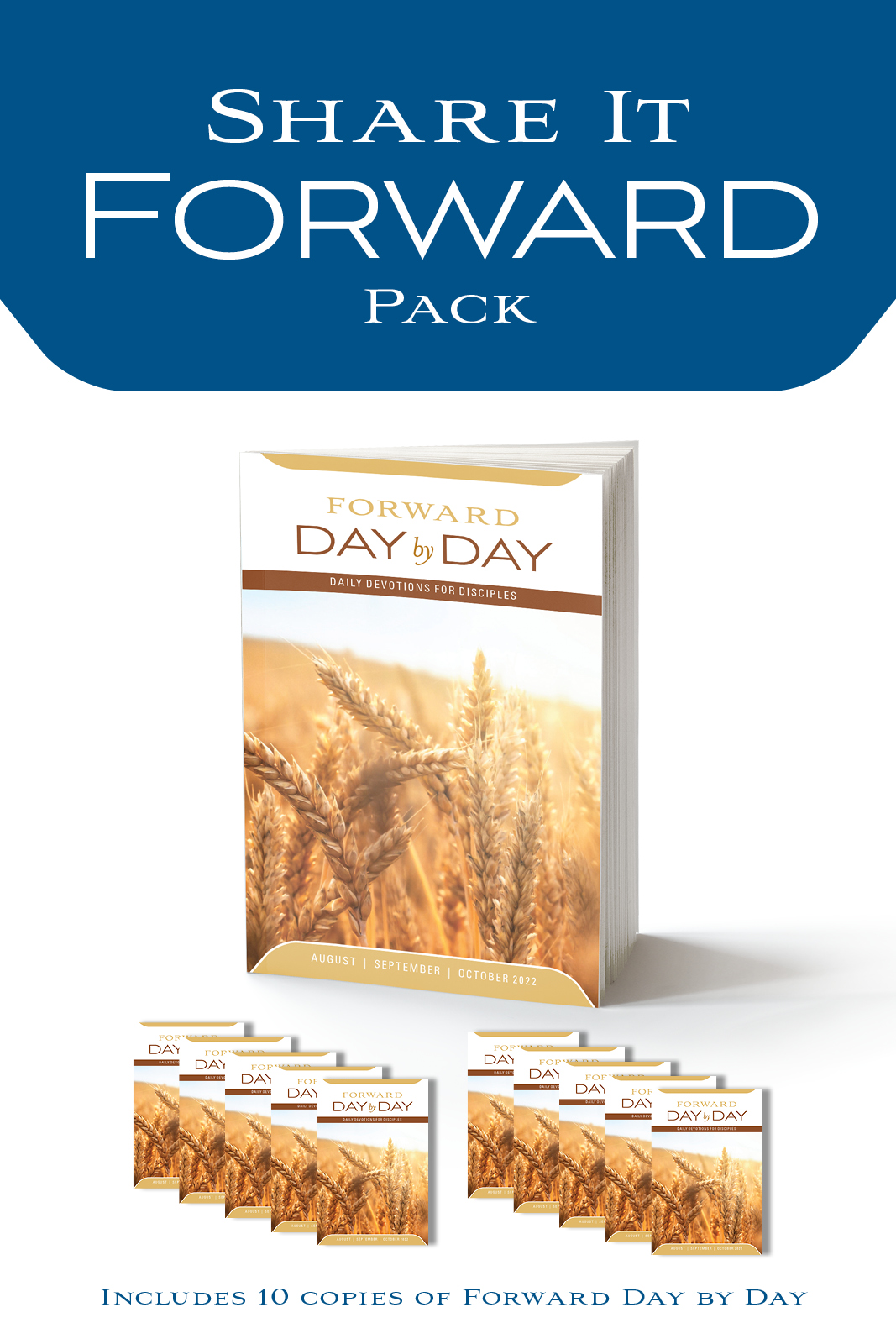 Share it Forward Pack—Regular Print Edition
