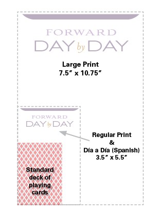 Forward Day by Day Sziing Chart